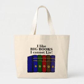 I Like Big Books I cannot Lie tote bag