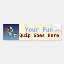 I Like Big Mugs! - Java Junkie Guy! Bumper Sticker