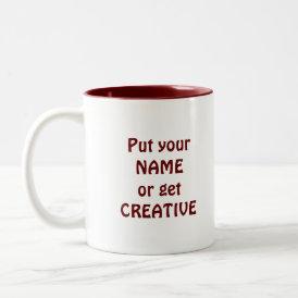 I Like Big Mugs! - Java Junkie Guy! Two-Tone Coffee Mug
