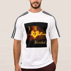 I Love Books - I 'Heart' Books (Candlelight) T-Shirt