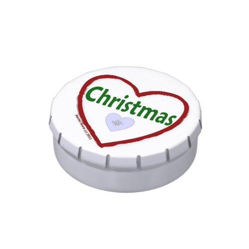 I Love Christmas - Candy Tin