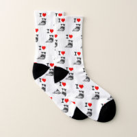 I love Corgi Butts Socks