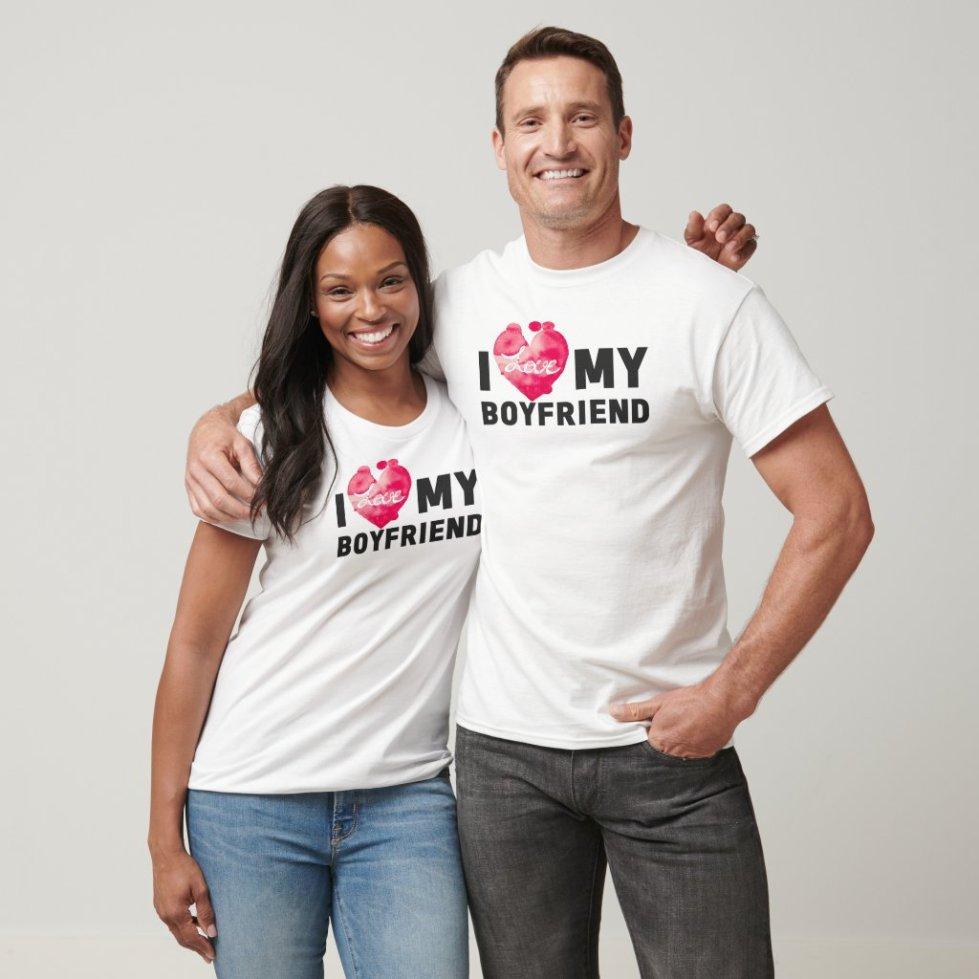 Cute Matching Boyfriend Girlfriend Couple Clothing
