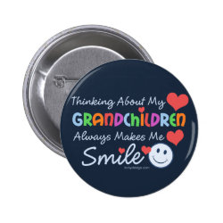 I Love My Grandchildren Button