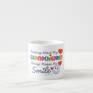 I Love My Grandchildren Espresso Mug
