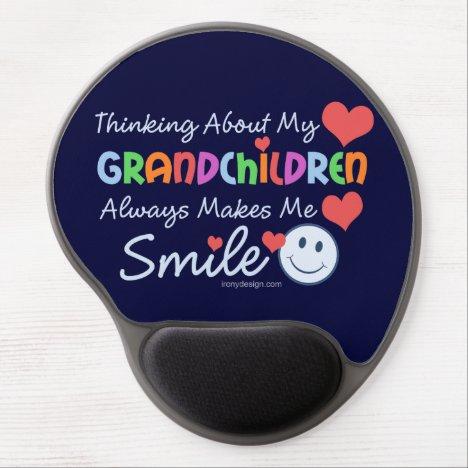 I Love My Grandchildren Gel Mouse Pad