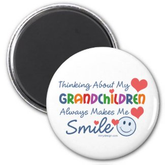 I Love My Grandchildren Magnets