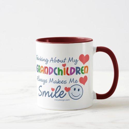 I Love My Grandchildren Mug