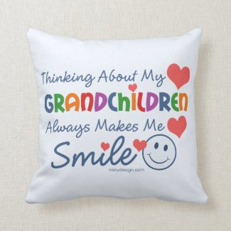 I Love My Grandchildren Pillows