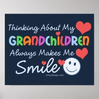 I Love My Grandchildren Posters