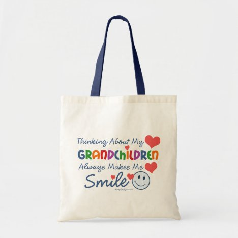 I Love My Grandchildren Tote Bag