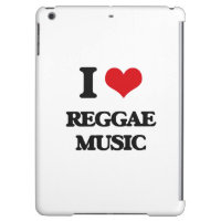 I love Reggae Music iPad Air Cover