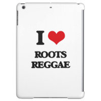 I Love ROOTS REGGAE iPad Air Case