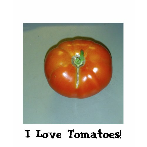 I Love Tomatoes And Chili Peppers T-Shirt shirt