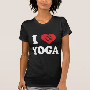 I Love Yoga Women's Dark T-Shirts