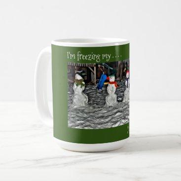 I'm Freezing My Jingle Bells Off – Snow People Coffee Mug