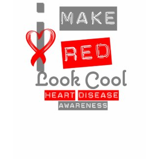 I Make Red Look Good Heart Disease shirt