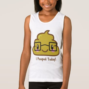 I Pooped Today!  Smarty Poo Tank Top