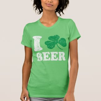 I Shamrock Beer T-shirts