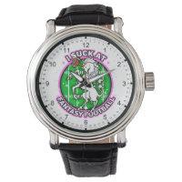 I Suck At Fantasy Football Unicorn Wrist Watch