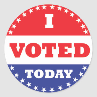 Image result for i voted sticker
