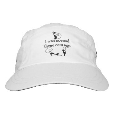 I Was Normal 3 Cats Ago Performance Hat