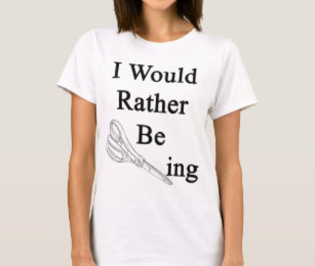 I Would Rather Be Scissoring T Shirt