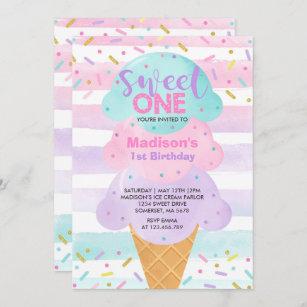 Ice Cream Social Invitations Zazzle