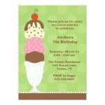 ❤️ Ice Cream Party Invitation