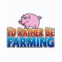 Facebook Geeks T-Shirts & Gifts - I'd Rather be Farming!