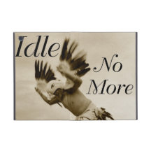Idle No More Dancing Eagle Ipad cover