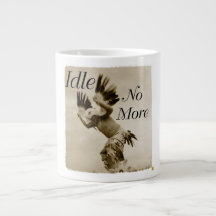 Idle No More Dancing Eagle Mug Jumbo Mugs