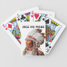 Idle No More Playing Cards