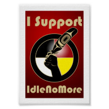 Idle No More Poster