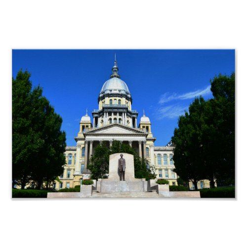 Illinois State Capitol Building Poster