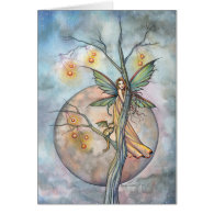 Illuminations Fairy Greeting Card
