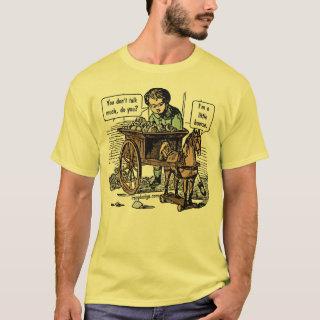 Funny Animal Slogan Shirts - I'm a Little Hoarse! Horse Pun T-Shirt