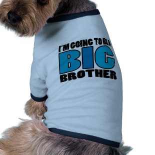 I'm Going To Be A Big Brother Doggie Tshirt