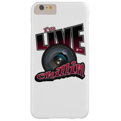 I'm LIVE Chillin: Social Video Streaming Barely There iPhone 6 Plus Case