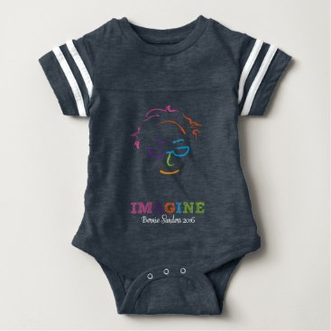 Imagine Bernie Sanders 2016 Baby Bodysuit