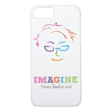 Imagine Bernie Sanders 2016 iPhone 8/7 Case