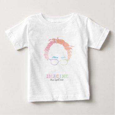 Imagine Bernie Sanders 2016 - watercolors Baby T-Shirt