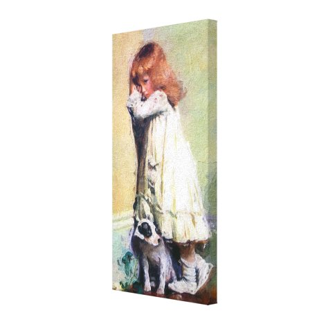 In Disgrace Vintage Oil Painting Canvas Print