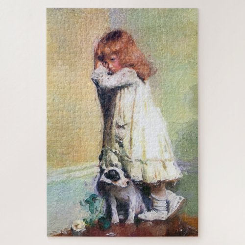 In Disgrace Vintage Oil Painting Masterpiece Jigsaw Puzzle