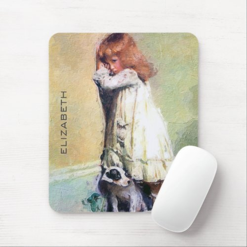 In Disgrace Vintage Oil Painting Personalized Mouse Pad
