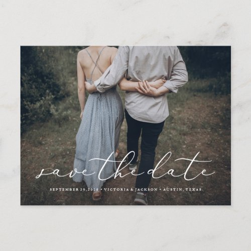 In Love Save the Date Postcard