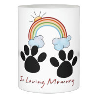 In Loving Memory, Rainbow Bridge LED Candle