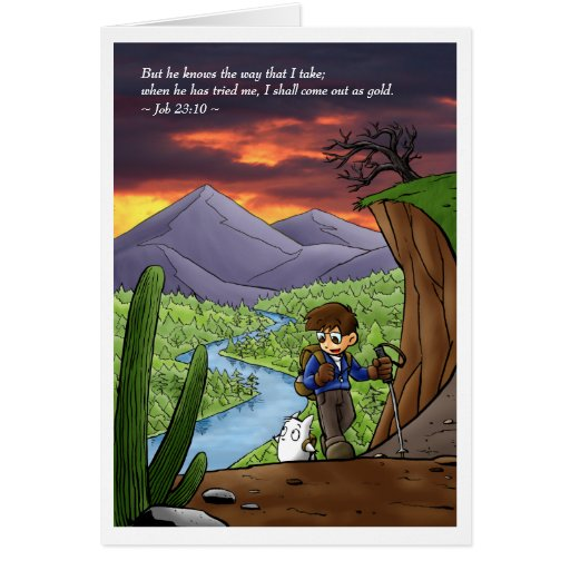 In the Wilderness Greeting Card