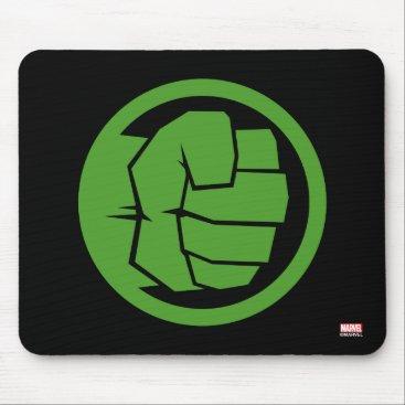 Incredible Hulk Logo Mouse Pad