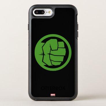 Incredible Hulk Logo OtterBox Symmetry iPhone 8 Plus/7 Plus Case